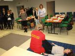 Szkolenia z pierwszej pomocy w RCR, listopad 2012