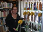 Wystawa ceramiki Lucyny Królickiej 2014, nie tylko anioły.
